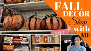 fall decor shop with me 2017 hobby lobby michael u0027s u0026 kirkland