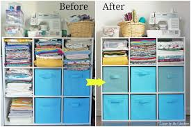 how to store your craft supplies in a small space decor by the