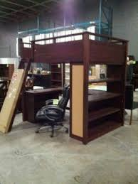 Double Bunk Bed With Desk Foter - Double top bunk bed