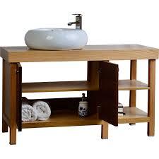 bathroom vanity with vessel sink 48