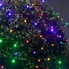 barnsley gardens christmas lights add a pretty twinkle into your garden with this 50 multi coloured