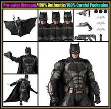 msh medicom toy mafex justice league batman tactical suit action