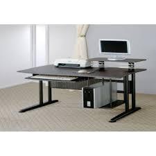 Modern Black Computer Desk Amazing Home Office With Modern Black Computer Desk Design And