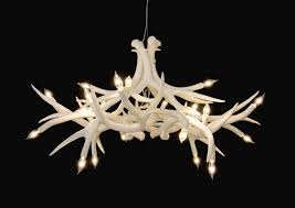 Antler Chandelier Kit L Lighting Authentic Looking Deer Antler Chandelier For Your