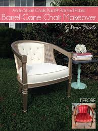 Refinishing Cane Back Chairs Barrel Cane Chair Makeover With Annie Sloan Chalk Paint Painted