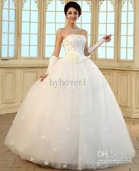 new 2017 korean style wedding dress plus size wedding dresses