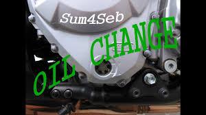 how to do an oil change on suzuki bandit 1250s sum4seb