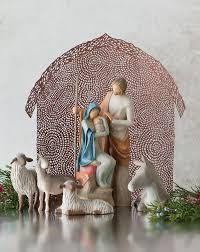 sheltering animals for the holy family willow tree