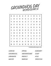 collections of groundhog day printable worksheets easy