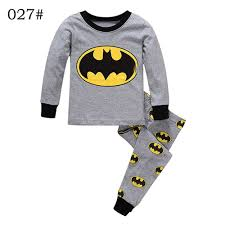 brand boys sleepwear clothes batman pajamas set children s