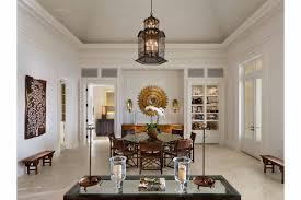 Odeon Crystal Chandelier Villa Marguerite Rodgers Interior Design