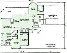 floor plans with basements 1 5 house plans with walkout basement mountain home plans with