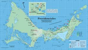 Pr Map Caribbean On Line Turks U0026 Caicos Maps Providenciales The Caicos