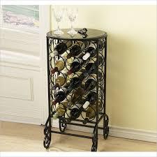 wine tables and racks home entertaining wine rack