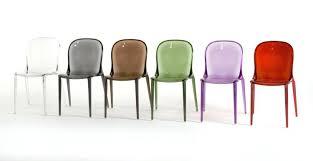 chaises cuisine couleur chaises de couleurs chaise thalya kartell chaise cuisine couleur
