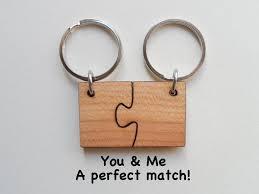 wood anniversary gifts wood anniversary gift tagged puzzle pieces jewelryeveryday