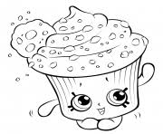cupcake coloring pages to print shopkins coloring pages free download printable