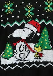 snoopy and woodstock halloween costumes boys peanuts snoopy u0026 woodstock ugly christmas sweater