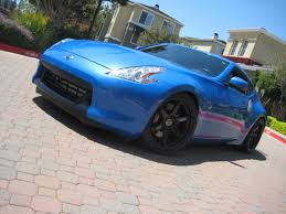 blue nissan 370z z car blog 2009 nissan 370z gtm supercharged