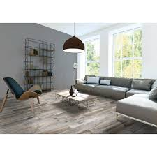 Floor And More Decor Gunnison Gray Wood Plank Porcelain Tile 3in X 18in 100242098