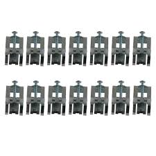 Culinaire Mounting Clip Kit PackA The Home Depot - Kitchen sink clips