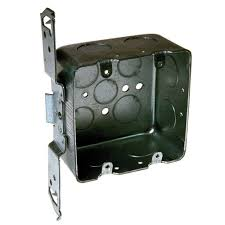 Hubbell Raised Floor Boxes by 2 1 8 In Deep 2 Gang Drawn Handy Box With 1 2 And 3 4 In Ko U0027s