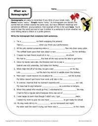 choose the correct homophone printable worksheet worksheets