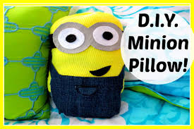 Diy Room Decor Easy Owl Pillow Sew No Sew Diy No Sew Minion Pillow Despicable Me Minions Movie Requested