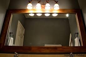 Framing Builder Grade Bathroom Mirror Wood Mirror Frame U2026part 2
