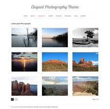 elegant photography wordpress theme vandelay design