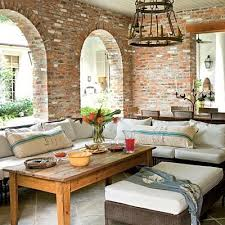 livingroom walls 20 exposed brick walls in modern living rooms rilane