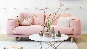Rosa Sofa A Pink Couch To Give A Touch Of Life In The Living Room