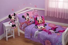 Light Purple Bedroom Bedroom Attractive Purple Minnie Mouse Bedding Set And Light