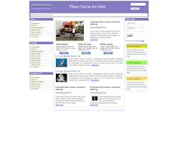 free website templates with media news theme 1