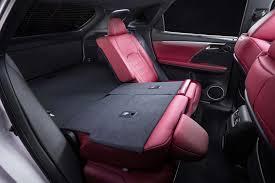 2017 lexus rx 350 for 2017 lexus rx 350 f sport rear seats folded down motor trend