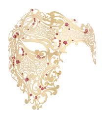 gold series signature phantom of the opera half mask