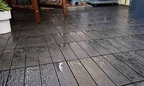 diy deck tile installation cali bamboo greenshoots blog