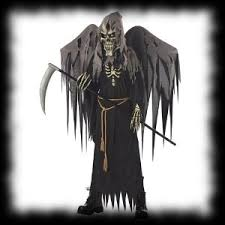 Grim Reaper Halloween Costumes Graveyard Cemetery Party Ideas Halloween 2