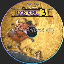 lion king 3 dvd label dvd covers u0026 labels customaniacs