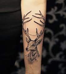 deer track tattoo designs tattoo collection