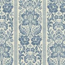 grey blue floral damask kc1843 wallpaper for the love of print