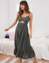 maxi dress aerie cutout maxi dress royal palm aerie for american eagle