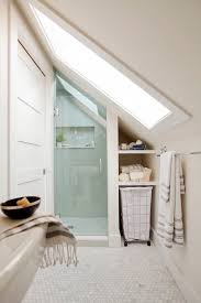 Storage Solutions For Small Bathrooms Best 25 Attic Bathroom Ideas On Pinterest Green Small Bathrooms
