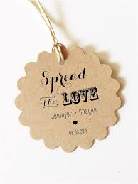 wedding gift labels custom gift tags spread the tag wedding favor tag wedding