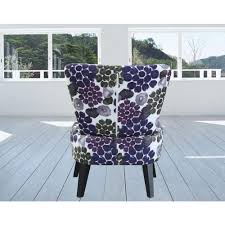 Lavender Accent Chair Purple Fabric Accent Chair C 051 The Home Depot