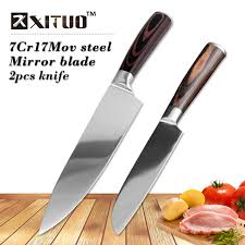 german kitchen knives aliexpress com buy xituo sharp kitchen knife sets 2pcs 7cr17mov