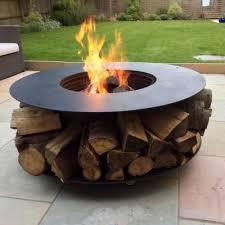 Firepit Logs Deluxe Log Pit Logfirepit