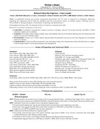 Technical Skills Resume Examples Download At And T Network Engineer Sample Resume