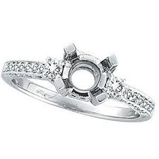 ring settings without stones 156 best engagement rings images on black diamonds