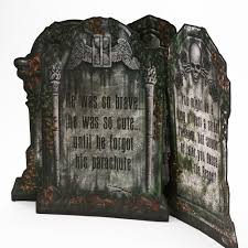 tombstone decorations great tombstone decorations boomer tombstone